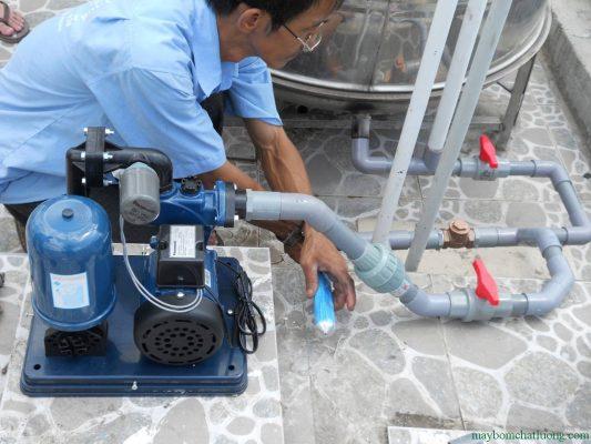 Lắp đặt máy bơm nước đúng chỗ giúp bảo quản máy bơm